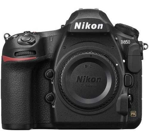 Câmera Profissional Nikon D850 Dslr Apenas Corpo Preta