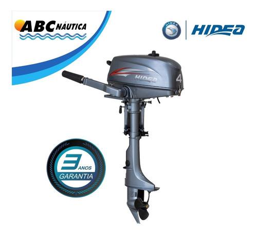 Motor De Popa 4hp Hidea Pronta Entrega