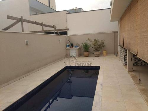 Imagem 1 de 30 de Sobrado Com 4 Dormitórios À Venda, 250 M² Por R$ 1.400.000,00 - Jardim Residencial Maria Dulce - Indaiatuba/sp - So0347