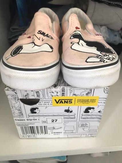 Tênis Vans Snoopy