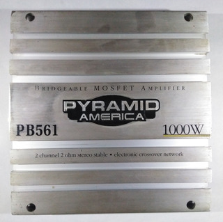 Planta De Sonido Pyramid America 2 Canales 1000watt Pb561