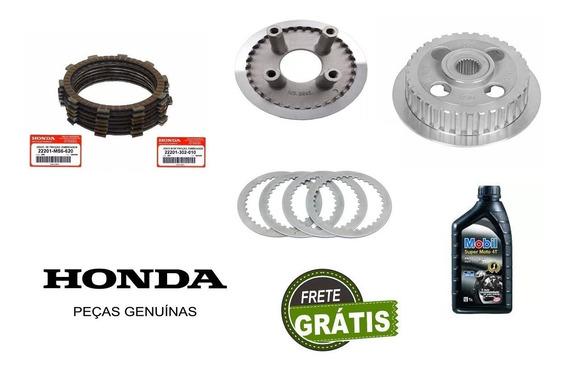 Kit Embreagem+oleo Titan150/fan150/bros150 Original Honda