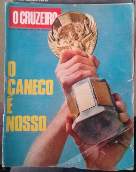 O Cruzeiro Nº 27, 1970 - Com Poster Gigante