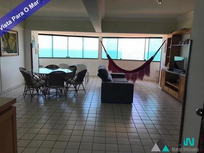 Venda De Apartamento Na Praia De Pirangi Do Norte, Em Parnamirim, Com 5 Quartos, Vista Para O Mar E Área De Lazer. - Ap00167 - 33344487