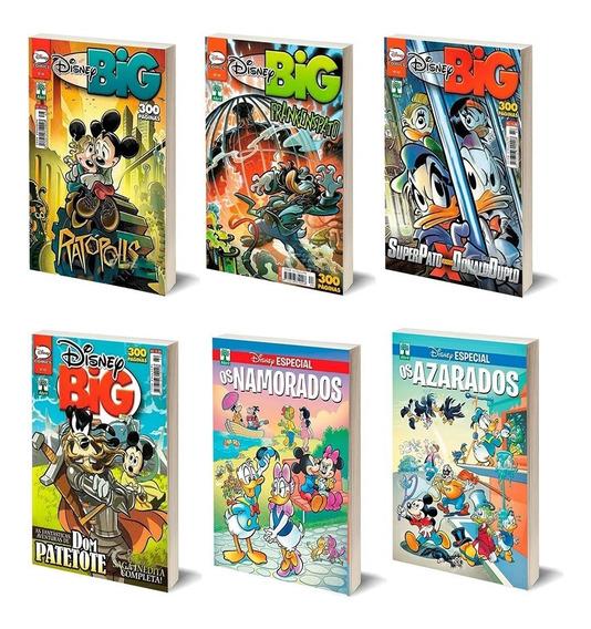 Hq Disney Especial Temáticas Big Mickey Donald Patinhas