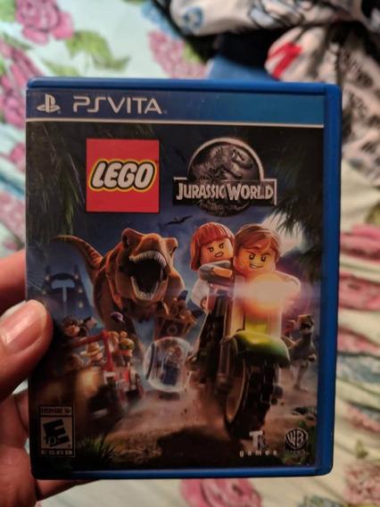 Jogo Psvita Lego Jurassic World Mundodos Dinossauros Ps Vita