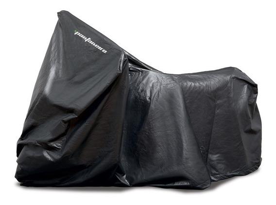 Capa Cobrir Moto Impermeável Forrada Anti Risco Tamanho: M