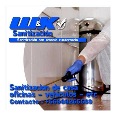 Servicio De Sanitizacion Y Productos De Desinfección