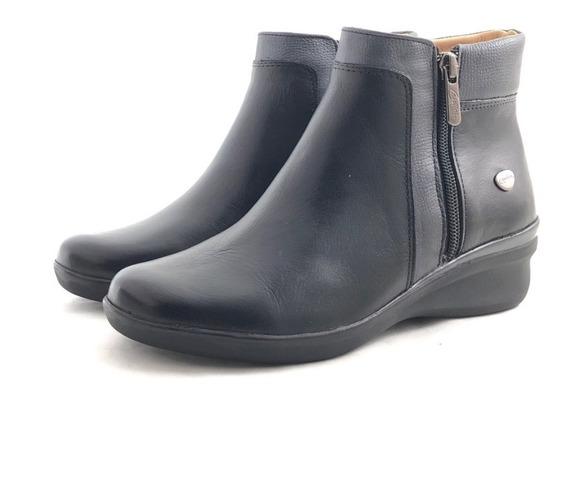 Cavatini 2452 Bota Cuero 2 Cierres El Mercado De Zapatos!