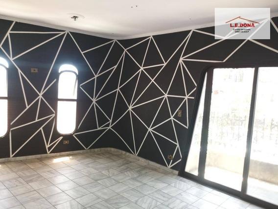 Apartamento Com 4 Dormitórios Para Alugar, 125 M² Por R$ 1.350/mês - Centro - Osasco/sp - Ap2162