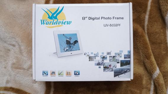 Porta Retrato Digital 8 Pol Controle Remoto - Wordview