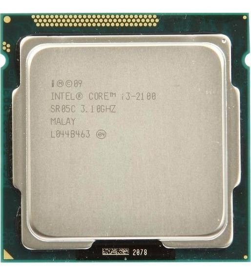 Processador Intel I3 2100 3.1 Ghz Usado Em Perfeito Estado!