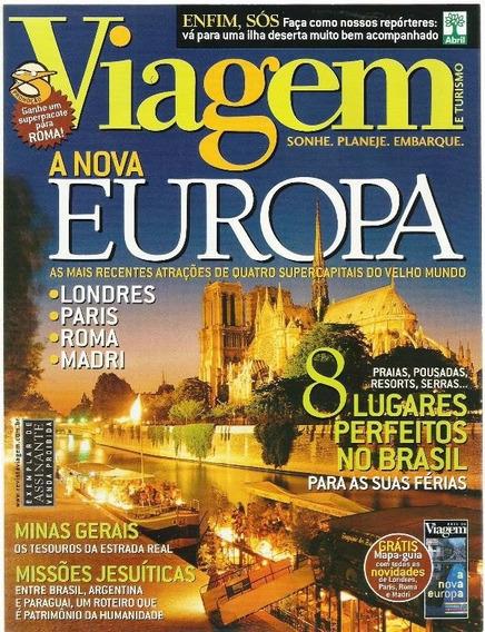 654 Rvt- 2003 Revista- Viagem- Jun- Nº 92- A Nova Europa