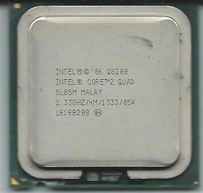 Processador Intel Core2quad Q8200 4m, 2.33ghz,1fsb1333 Mhz