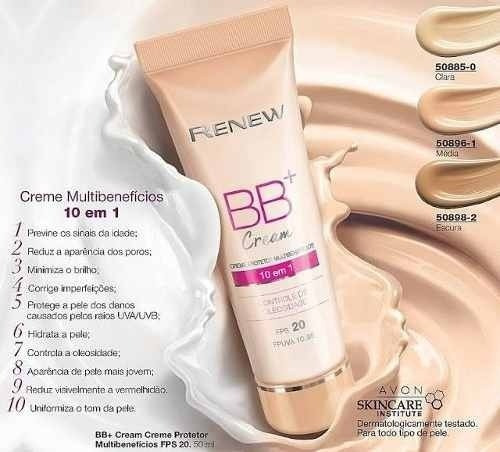 Renew Bb Cream - Cor: Média