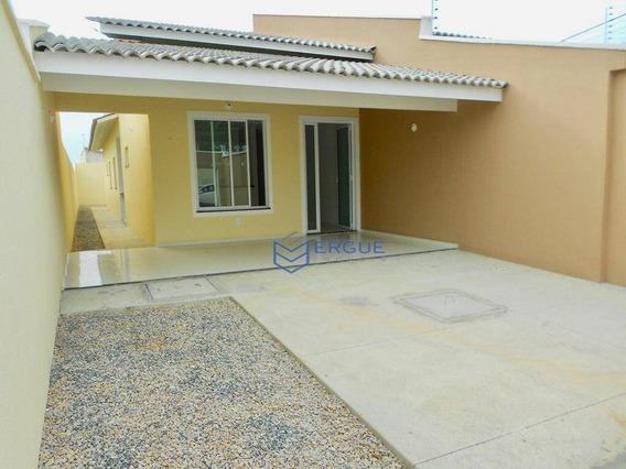 Casa Com 3 Dormitórios À Venda, 112 M² Por R$ 265.000,00 - Messejana - Fortaleza/ce - Ca0389
