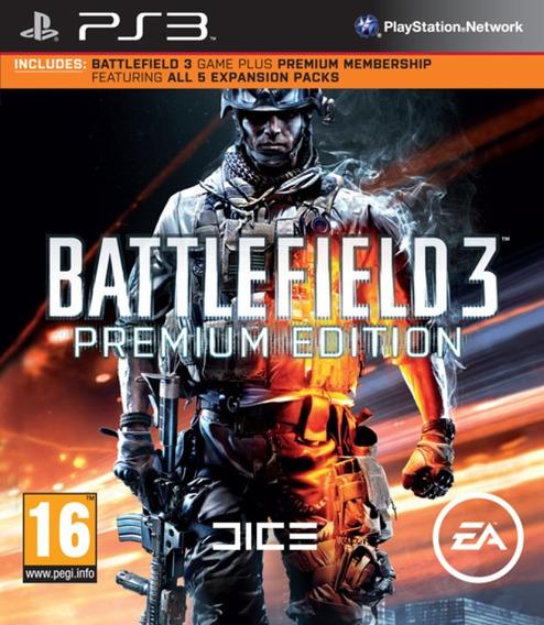 Battlefield 3 Bf3 Premium Edition [ Jogo + Dlcs ] Jogos Ps3