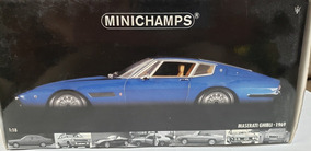 Miniatura Da Maserati Ghibli - 1969 Minichamps 1:18