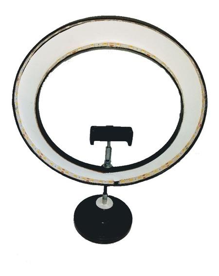 Ring Light Iluminação Led 11.5 Pol. + Mini Pedestal De Mesa