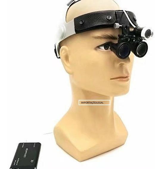 Óculos Lupa Cabeça Fotóforo Tratamento Estético E Cirurgias. Produto Em Promoção De Alta Qualidade.