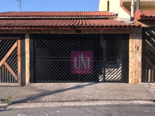 Imagem 1 de 16 de Casa Com 3 Dormitórios À Venda, 210 M² Por R$ 700.000 - Parque Novo Oratório - Santo André/sp - Ca0285