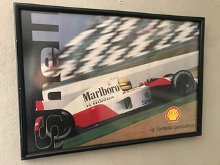 Cuadro De Airton Senna