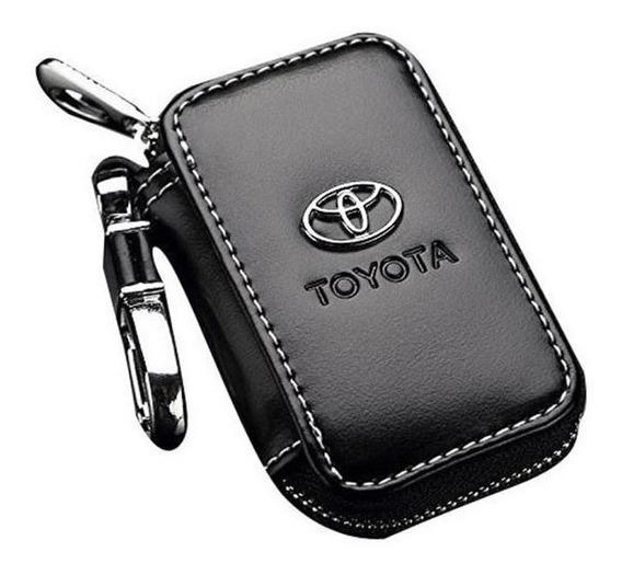 Chaveiro Couro Toyota Porta Chave Capa Corolla Etios Hilux