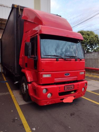 Imagem 1 de 7 de Ford Cargo 2428e Ano 2008 Truck Alongado