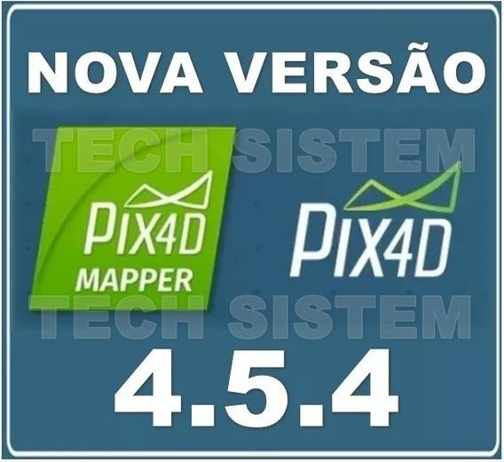 Novo Pix4d Pix4dmapper Pro 4.5.4 Atualizado | Win | 64 Bits