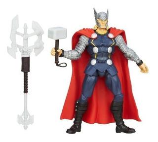 Los Vengadores De La Maravilla Ensamblan Trueno Hacha Thor F