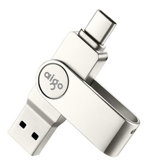 Aigo U356 Alta Velocidade Tipo-c Ub 3.1 Flash Drive-64gb