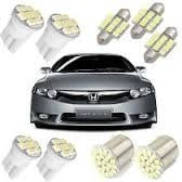 Lampada Automotiva Led Honda Civic Kit Completo Efeito Xenon