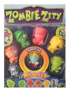 Muñeco Zombie Zity Figuras X 7 Villa Crespo
