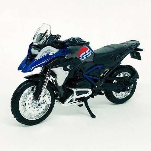 Miniatura Moto Bmw R1200gs 2017 1:18 Maisto Bmw R 1200 Gs