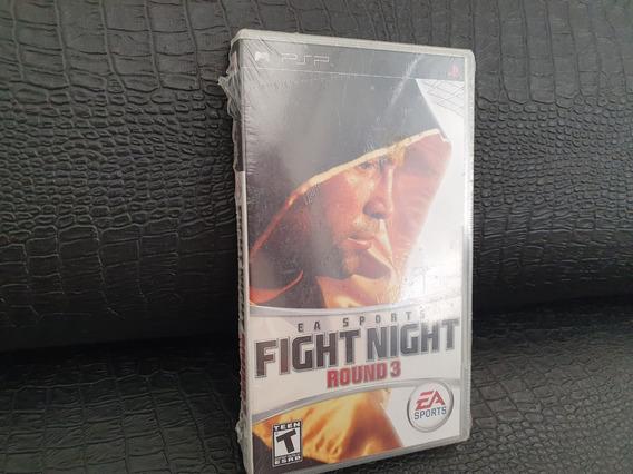 Jogo Psp Fight Night - Round 3 Lacrado!