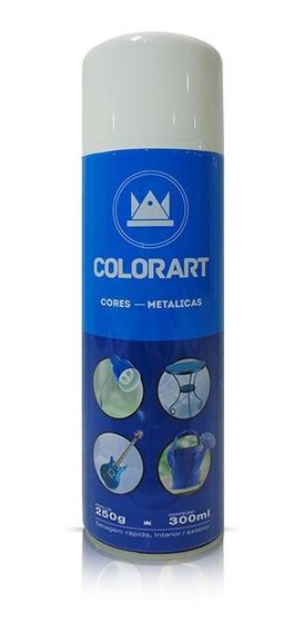 Tinta Spray Metálica Colorart Para Ferro Madeira Bicicleta