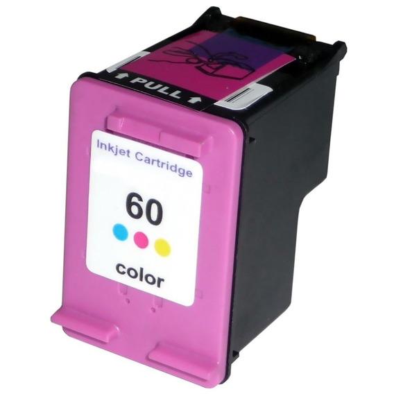 Cartucho 60 Color Compatível