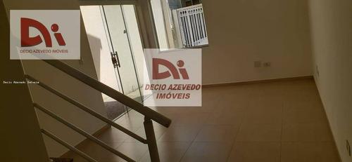 Sobrado Com 2 Dormitórios À Venda, 123 M² Por R$ 390.000,00 - Granja Daniel - Taubaté/sp - So0032