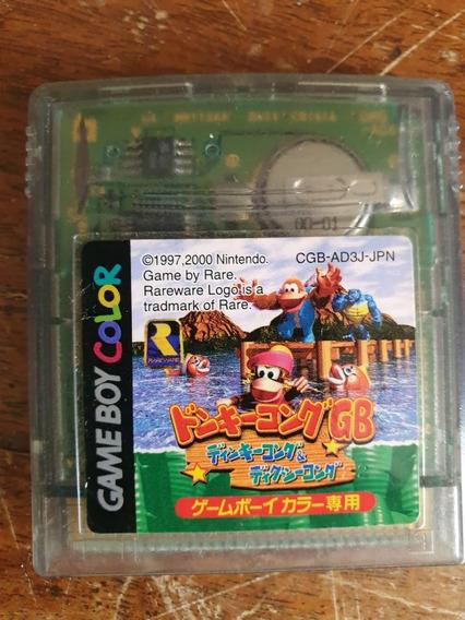 Donkey Kong Country 3 Original Japonês Gameboy Color