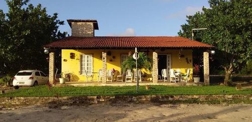 Casa Com 3 Dormitórios Para Alugar, 120 M² Por R$ 1.000,00/mês - Lagoa Do Bonfim - Nísia Floresta/rn - Ca7455