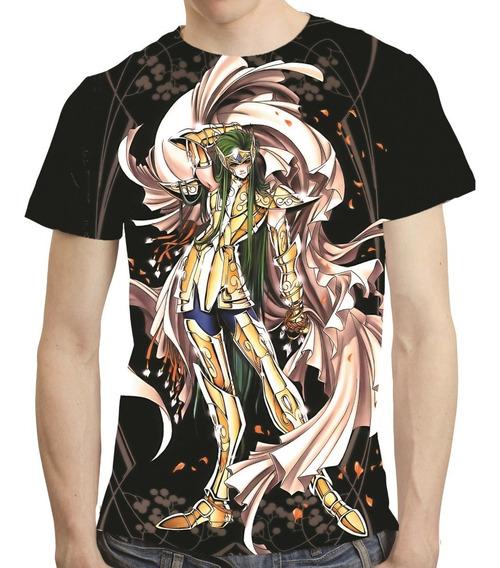 Camisa Camiseta Dégel De Aquario The Lost Canvas Mod 02