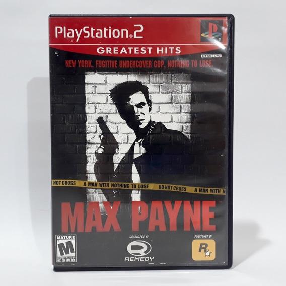 Jogo Max Payne 1 Ps2 Playstation Americano Original Confira!
