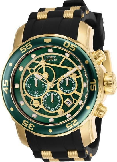 Relógio Invicta Pro Diver 25708 Banhado Ouro 18k C/garantia