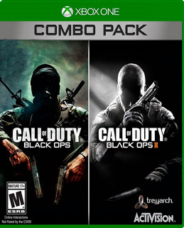 Call Of Duty Black Ops 1, 2 Combo Pack Xbox One ,360