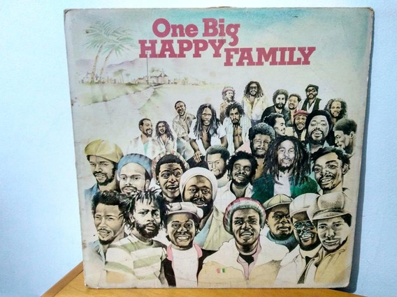 Lp One Big Happy Family- Toots And The Maytals Burning Spear