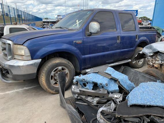 Ford F-250 Tropical Azul 4 Portas V6 Gasolina.