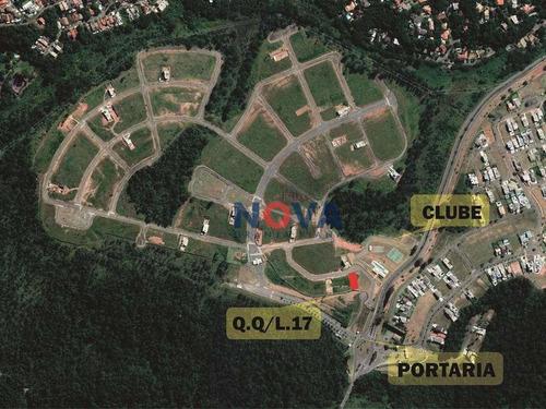 Imagem 1 de 12 de Terreno À Venda, 725 M² Por R$ 450.000,00 - Reserva Santa Maria Nature - Jandira/sp - Te1023