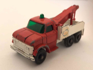 Matchbox, N* 71, Ford Heavy Wreck Truck, Camion Ford Grúa