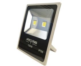 Refletor Led Holofote 100w Bivolt Prova Dágua Bco Frio Usado