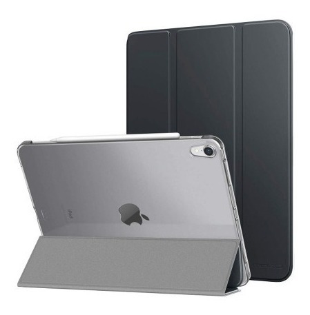 Case Infiland iPad Pro 12.9 Preto Com Traseira Translúcida